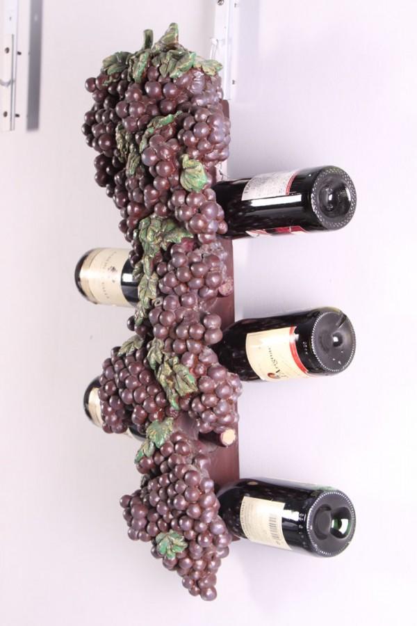 Botellero de pared uvas oriente y occidente - Botellero de pared ...