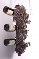 BOTELLERO DE PARED UVAS