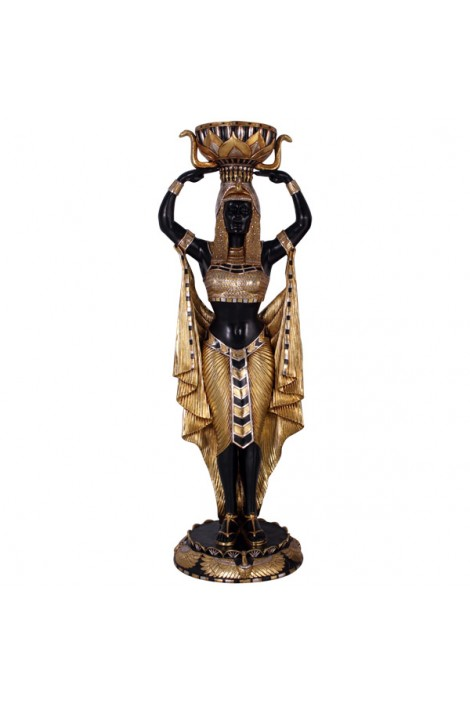 MACETERO MUJER EGIPCIA