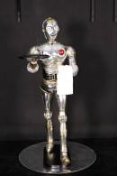 ROBOT CON BANDEJA